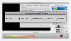 Mac DVD Creator, DVD Creator for Mac - output